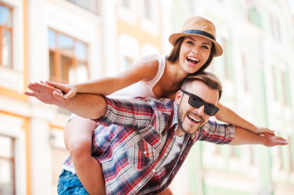 Couple smiling | dentist grapevine tx
