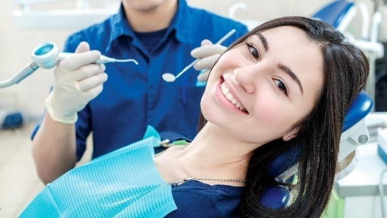 Friendly Dentist in Grapevine TX | Woman in Dental Cleaning