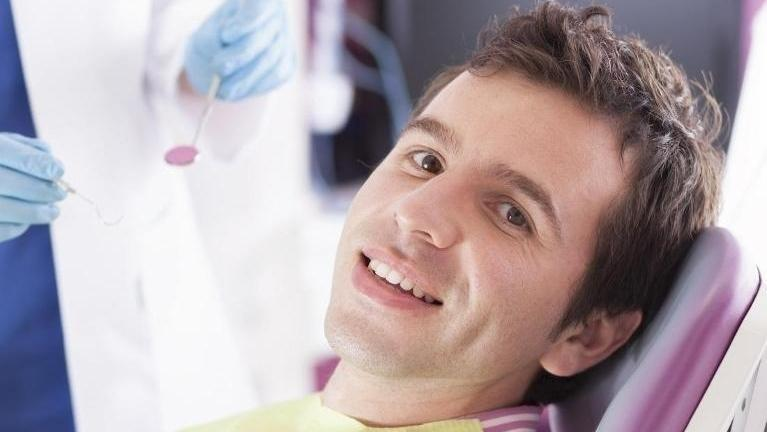 Emergency Dentistry in Grapevine TX | Man in operatory chair
